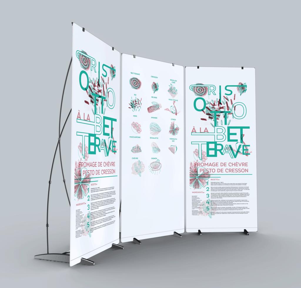 presentation du projet Cuisine Graphique