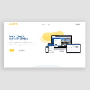 Site web de MATOS BTP - accueil
