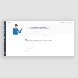 LeanCo Planification - Page support