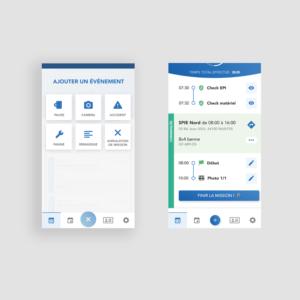 Application mobile MATOS - Ajout d'évenement sur une mission